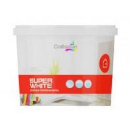 Супербіла інтер'єрна фарба Craftsman SUPER WHITE (14 кг)