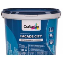 Фарба фасадна акрилова Craftsman FACADE CITY (14 кг)