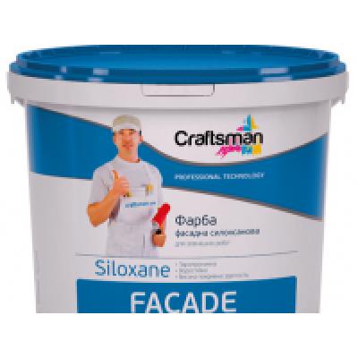 Фарба фасадна Силоксанова CRAFTSMAN FACADE SILOXANE (14 кг)