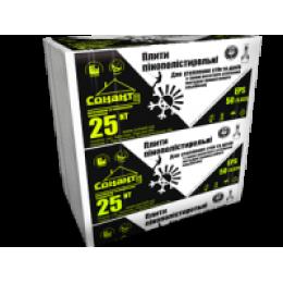 Пінополістирол EPS 50/0.035 (ПСБ - С 25 NT) щільністю 9 кг/м3