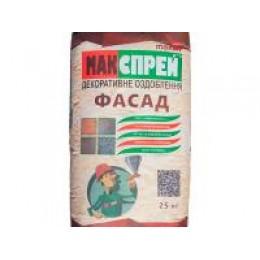 МАК-СПРЕЙ ФАСАД декоративна штукатурка (25 кг)