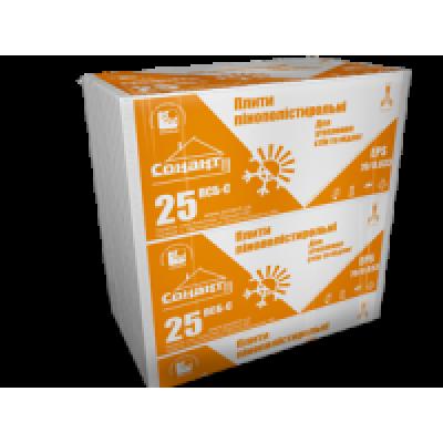 Пінополістирол EPS 70/0.033 (ПСБ-С 25) щільністю 15 кг/м3